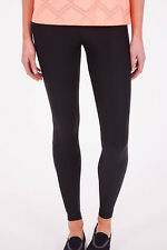 NEW Running Bare Womens Leggings High Rise Full Length Tight Black