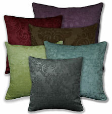 HB Red Brown Grey Lime Turquoise Purple Flower Cotton Cushion Cover/Pillow Case