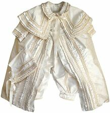 Baby Boy Christening outfit, Hand Made, (ropon para niño) Boys Gown