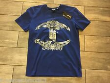 JUST CAVALLI Mens T-Shirt Short Sleeve New Collection S01GC0218 - New With Tags