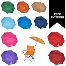 Folding Umbrella Clamp On Outdoor Chair Beach Camping Patio NEW & FREE SHIPPING
