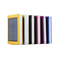 50000mAh Dual USB Solar Power Bank External Battery Charger for Phone Laptop E1