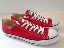 Converse Unisex Chuck Taylor All Star Ox Red M9696