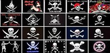 3ftx5ft Jolly Roger, Jack Rackham, Black Beard, Richard Worley Pirate Flag ect
