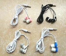 Lot 4pcs in-ear Earphone Headphone 3.5mm Headset Earbuds For Cell phone Mp3 Mp4