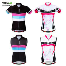 New Summer Women Cycling Bike Bicycle Short Sleeve Jersey Wear T-Shirts Tops
