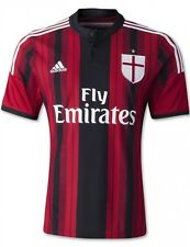 Adidas AC Milan Home Soccer Player Jersey Size M/ L