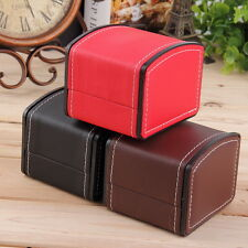 Luxury Watch Box Display Case Gift Box For Watch Jewelry Leather Watch Box  FT