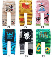 Baby boys girls toddler leggings Warmer Knitting Cotton PP pants Style F