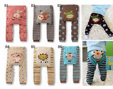 Baby boys girls toddler leggings Warmer Knitting Cotton PP pants Style B