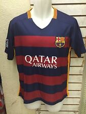 New! FC Barcelona Local Adult Jersey XS-XL