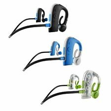 New BlueAnt Pump HD Waterproof Bluetooth Wireless Neckband Headphones MultiColor
