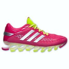NEW Youth Girls Size 5.5 ADIDAS Springblade Razor Berry Pink Slime Running Shoes