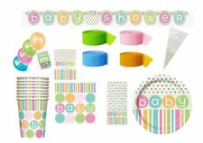 Baby Shower Neutral Polka Dots Party Supplies Tableware Decorations Girl or Boy