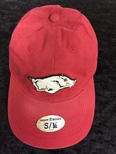 Arkansas Razorbacks Adidas Point Reyes Adult Fitted Cardinal Red Flex Slouch Hat