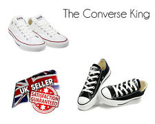 Unisex Converse All Star Chuck Taylor Ox Trainers Low Top Shoes Womens All Size