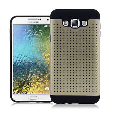 New Metalic Protective 2 Layer Cover Case For Samsung Galaxy E7