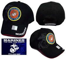 US Marines  Licensed  Military Baseball Caps Embroidered 1Pc or 6Pcs  (E7507M2)