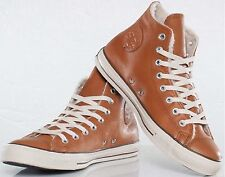 Converse Chuck Taylor Hi Leather Trainers in Glazed Ginger (Clearance)