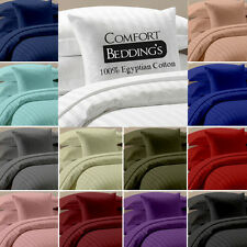 """Bumper Offer "" New  15 Color 6pc Sheet Set 1000TC 100%Egyptian cotton Striped"