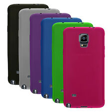3x Transparent TPU Gel Rubber Cases Covers for Samsung Galaxy Note 4