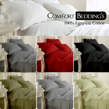 """Bumper Offer "" New 15 Color 6pc Sheet Set 1000TC 100%Egyptian cotton Solid"