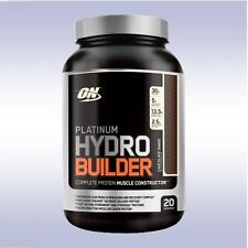 OPTIMUM NUTRITION PLATINUM HYDRO BUILDER (2.2 LB / 20 SERVINGS) whey protein on
