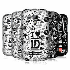 OFFICIAL 1D DOODLE DESIGN HARD BACK CASE FOR SAMSUNG GALAXY S DUOS S7562