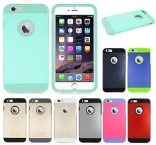 TPU + PC Shockproof Hard Cover Case For Apple iPhone 6 Plus 5.5 cell phone