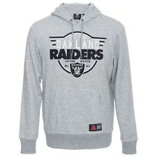 Majestic NFL Oakland Raiders Kossy Overhead Graphic Hoodie