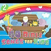 50 Bible Songs for Kids [Digipak] by The Countdown Kids (CD, Oct-2009, 2...