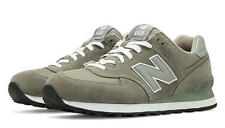 New Balance M574GS: 574 Grey/Grey Classic Casual Running Sneaker Men Size