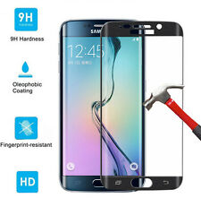 For Samsung Galaxy S6 Edge 9H Full Cover Curved Tempered Glass Screen Protector