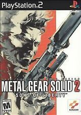 Metal Gear Solid 2: Sons of Liberty (Sony PlayStation 2, 2001)complete b241