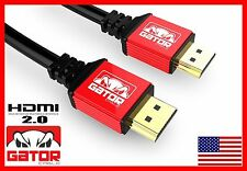 Ultra HDMI 2.0 Cable HDTV LED LCD PS4 V2.0 3D 2160P 4K X2K XBOX BLURAY DVD V2.0