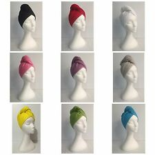 Twist Up Hair Wrap - Terry Towel Cotton Hair Quick Drying Turban Twist