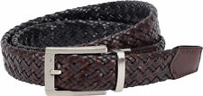 Nike Golf Mens Braided G-Flex Reversible Belt Black to Brown NWT pick size