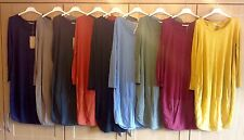 Italian layering lagenlook Cocoon dress parachute dress Cotton tunic  10-14
