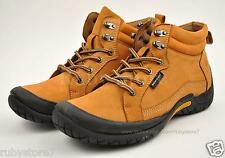 Men's Camel Hiking Trail Walking Casual Boots Shoes Genuine Leather Soft 60133