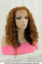 """22"""" Recurlable Human Hair Mix Blend Lace Front Wig (Dana)"""