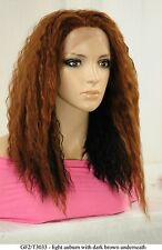 """20"""" Recurlable Human Hair Mix Blend Lace Front Wig (Sophia)"""