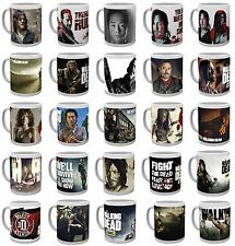 Official THE WALKING DEAD BOXED MUG Rick Daryl Glenn Negan Carol Jesus Ezekiel