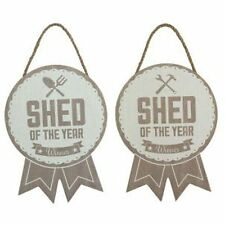 Shed of the Year Award - Wall Door Sign Plaque - Garden or Workshop - Dad Gift