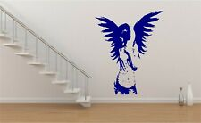 Angel Fairy Girl Goth Gothic Wall Art Sticker Decal Mural Transfer