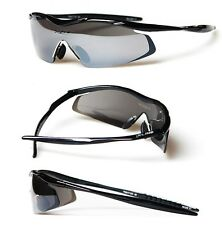 XLINE 5012 Women Mens 19g Mirrored Polarized 1.5mm Sports Sunglasses CYCLING RUN