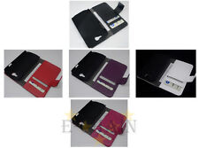 Multi Leather Cover Flip Case HOLDER WALLET For Samsung Galaxy Express I8730