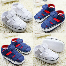 Toddler Baby boy Girl crib shoes sandals shoes sneakers size 0-6 6-12 12-18month