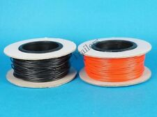 FREE P&P* 50 Metre Roll of 5 Amp BLACK Single Core Cable - Bulk Buy  #3221B