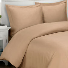 4pc Royal Tradition 100% Viscose from Bamboo Comforter & Duvet Cover Set- Taupe