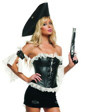 Sexy Starline Swashbuckler Pirate Dress 3pc Costume S2078